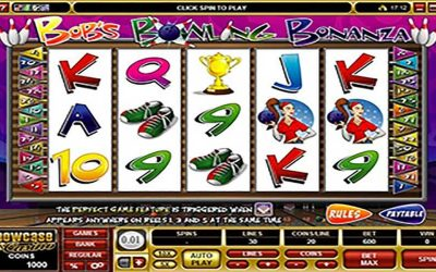 Win Casino Bonus with Bobs Bowling Bonanza Casino Slot
