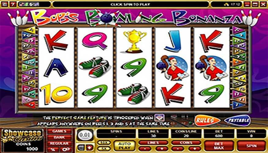 Bobs Bowling Bonanza Casino Slot